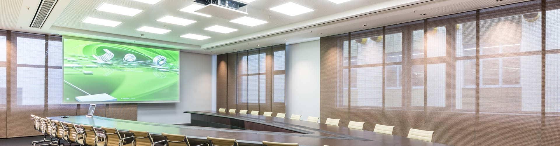 Referenzen Konferenzraumtechnik