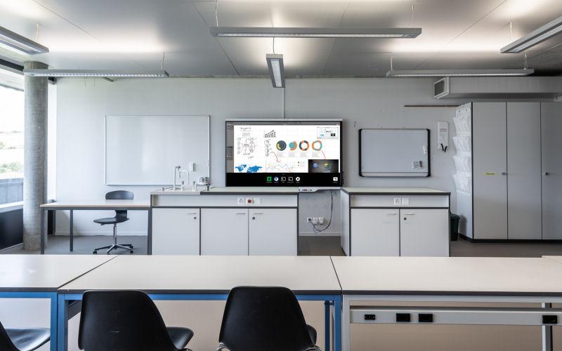 media technologies teaching rooms